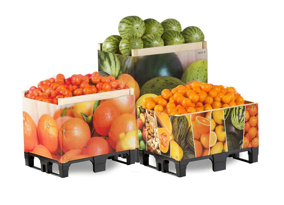 almacenamiento frutas y verduras